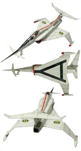 Gallery Thunderbirds auction: Angel Aircraft display model