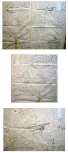 Gallery Thunderbirds auction: Derek Meddings Aquasprite drawing