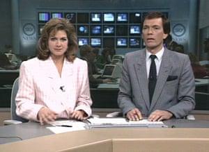Gallery Sky 20th anniversary: Sky news First news bulletin