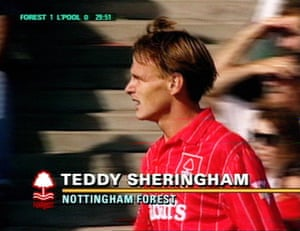 Gallery Sky 20th anniversary: Sky Nottingham Forest Teddy Sheringham