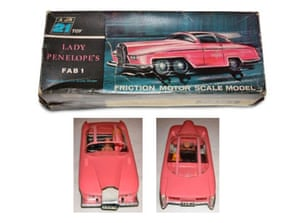 Gallery Thunderbirds auction: Century 21 FAB1 toy dating from 1965