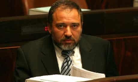 Yisrael Beiteinu Chairman Avigdor Lieberman