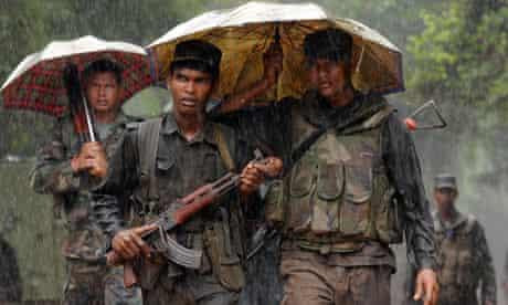 Tamil Tigers Sri Lanka war