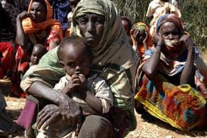 Gallery Severe Drought: Women from drought-stricken area of Oromiya region