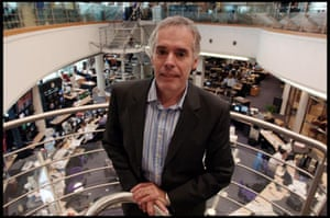 Peter Horrocks, head of the BBC Newsroom. Photograph: Martin Godwin/All rights reserved