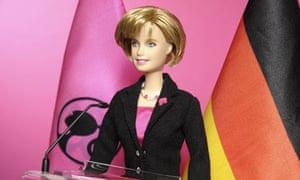 Angela Merkel Barbie doll