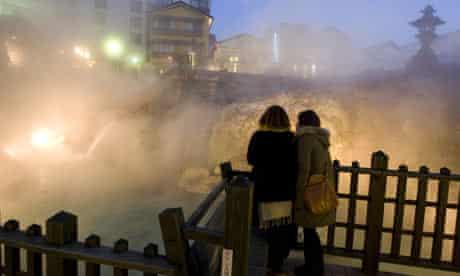 Hot Springs in Kusatsu, Japan