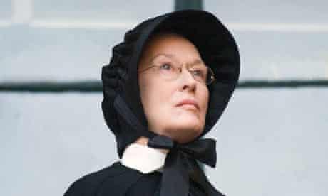 Meryl Streep as Sister Aloysius in the film Doubt