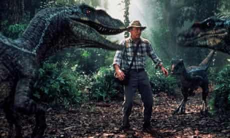 Sam Neill encounters velociraptors in Jurassic Park III