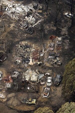 Gallery Australian bushfires: Buildings and vehicles destroyed at Kinglake