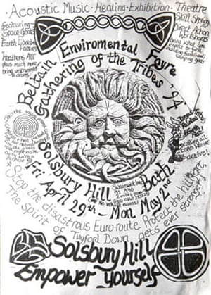 Gallery Solsbury Hill protest: 15th anniversary of Solsbury Hill road protest