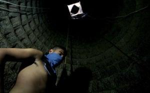 Gallery Tunnels under Gaza: Gaza tunnels