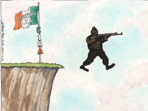 11.03.09: Steve Bell on Northern Ireland attacks