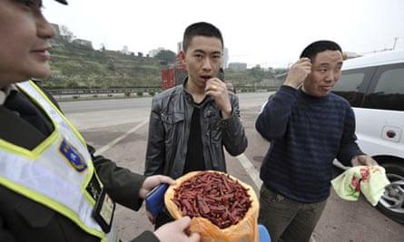 china police chillis