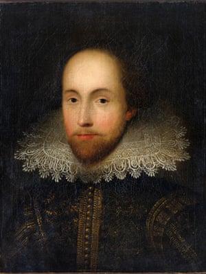 The 'Dorchester' portrait of Shakespeare