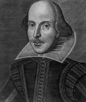 The Droeshout portrait of Shakespeare