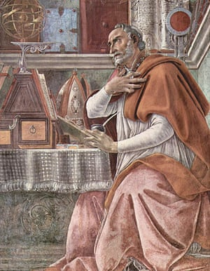 Galileo exhibition: St Augustine in his study, by Botticelli