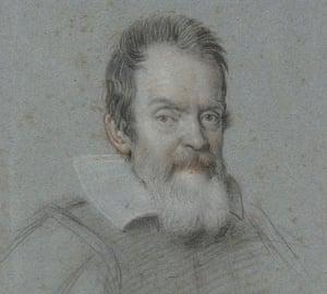 Galileo exhibition: Portrait of Galileo