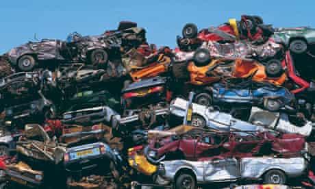 car scrap heap amsterdam
