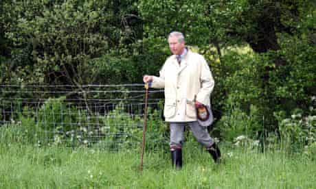 Prince Charles Wiltshire Wildlife Trust and Clattinger Farm, Wiltshire - 14 May 2007