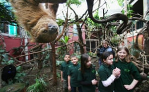 Week in wildlife: Schoolchildren Become Zoo Keepers For The Day, London