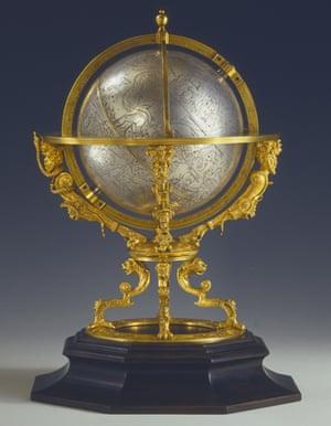 16th century mechanical celestial globe