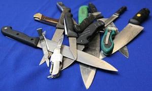Knife crime figures published