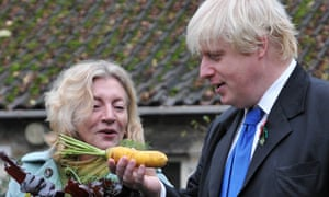 Boris Johnson and Rosie Boycott launch Capital Growth in Londo