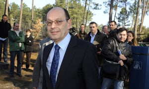 Serge Foucher CEO of Sony France after being held hostage.