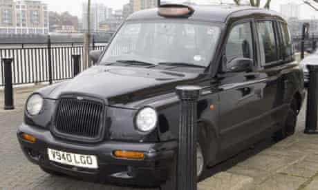 Taxi used by John Worboys