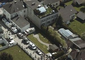 Josef Fritzl: Josef Fritzl's house where he imprisoned his daughter Elisabeth.