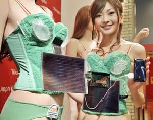 Solar clothing: Triumph International Photovoltaic-Powered Bra
