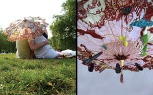 Solar clothing: Solar parasol by  by Spanish designer Elena Corchero