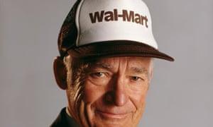 Sam Walton, the founder of Wal-Mart