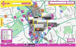Stamen has been exploring representing time as well as location on its maps for the 2012 Olympics in London