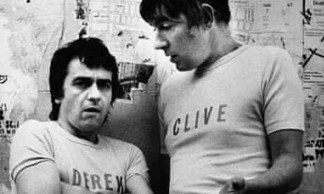 Peter Cook and Dudley Moore as Derek and Clive