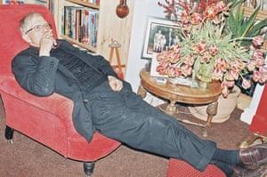 Juergen Teller: David Hockney at home in Bridlington
