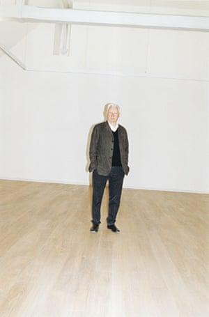 Juergen Teller: Artist and curator Michael Craig-Martin
