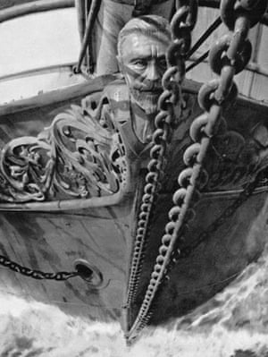 Alan Villiers: The figurehead of the Joseph Conrad by Alan Villiers