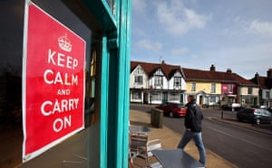 Keep Calm and Carry On: The Gallery Woodbridge