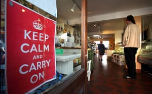 Keep Calm and Carry On: Loves and Fishes in Woodbridge