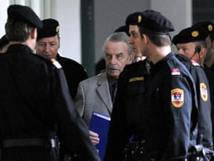Josef  Fritzl: Josef Fritzl during a break on the second day of his trial