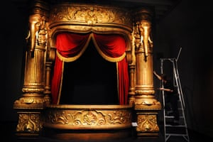 A box from the Palace Theatre of Varieties