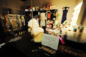 Kylie's dressing room