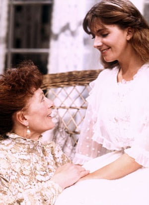 Natasha Richardson : Vanessa Redgrave and Natasha Richardson in The Seagull 1985