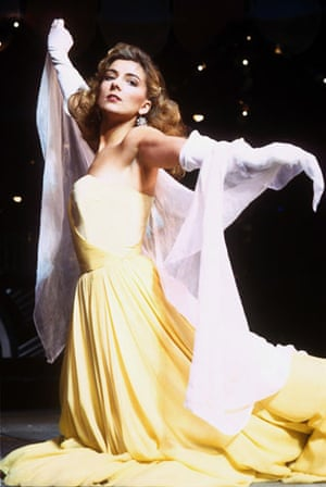 Natasha Richardson : Natasha Richardson in  High Society at The Victoria Palace Theatre 1987