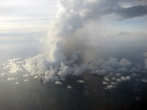 Volcano eruption in Tonga: undersea volcano erupts off the coast of Tonga