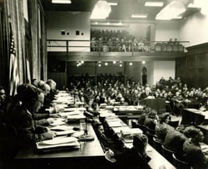 Nuremberg: The courtroom where the Nuremberg trials took place