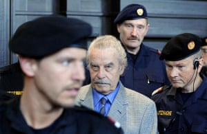 Josef Fritzl: Josef Fritzl on day four of his trial