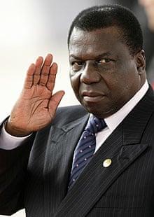 The Guinea-Bissau president, Joao Bernardo Vieira